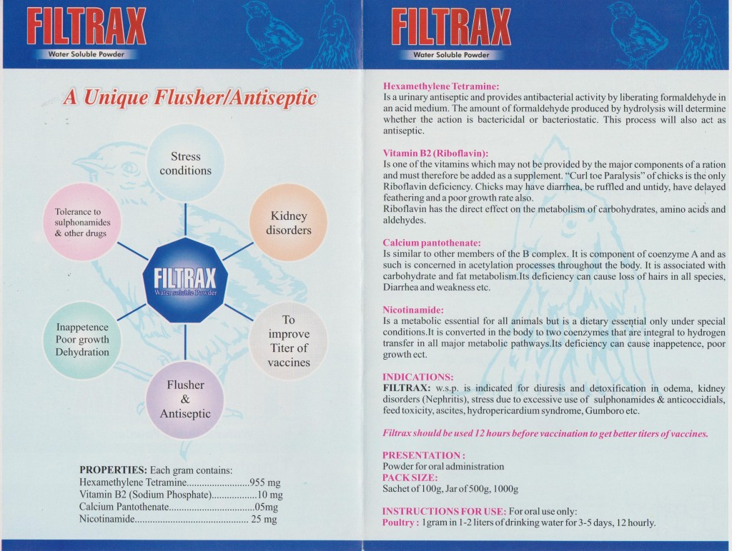 Filtrax back