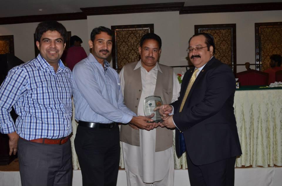 Dr. Kashif Mehboob Excellence Award 2013-04